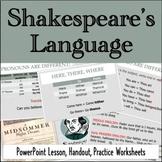 Shakespeare's Language: Understanding Elizabethan Dialect