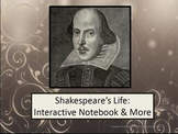 Shakespeare's Life: Interactive Notebook and More!