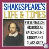 SHAKESPEARE INTRODUCTION