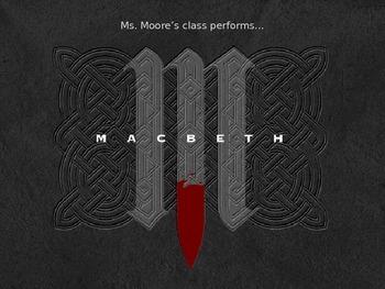 Shakespeare's Macbeth Apparitions PowerPoint - Act 4, Scene 1