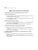macbeth character teaching resources teachers pay teachers shakespeare s macbeth character analysis essay packet