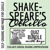 Othello Quiz Bundle - William Shakespeare