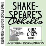Othello Quiz Bundle - William Shakespeare