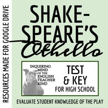 Othello Unit Test & Key