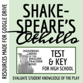 Othello Unit Test & Key