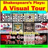 Shakespeare's Plays PowerPoint : The Histories, The Comedies, The Tragedies
