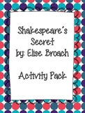 Shakespeare's Secret Reading Comprehension & Activity Pack