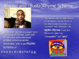 Shakespeare's Slammin' Sonnets, Yo! PowerPoint with VIDEO CLIPS!
