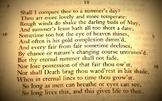 Shakespeare's Sonnet 116 - AP ENG Lit Presentation Sample
