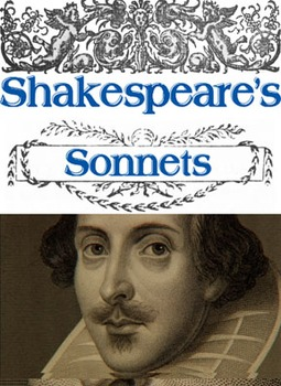 Shakespeare's Sonnets Unit (Handouts, Tests, Power Points)