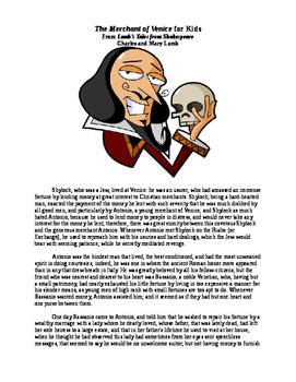 Shakespeare's The Merchant of Venice for Kids