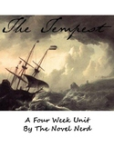 Shakespeare's The Tempest: 4-Week Unit w/ Final Exam