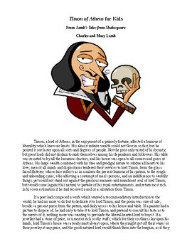 Shakespeare's Timon of Athens for Kids