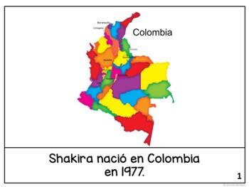 Shakira Readers {Hispanic Heritage Month} Bilingual version