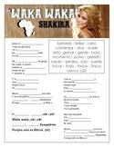 Shakira - Waka Waka Cloze Song Sheet!