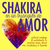 Shakira love triangle reading in Spanish: nationality, weather