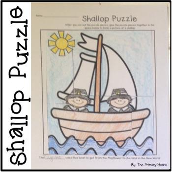 Shallop Boat Puzzle