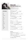 Shallow (Lady Gaga & Bradley Cooper) - Lyrics Worksheet