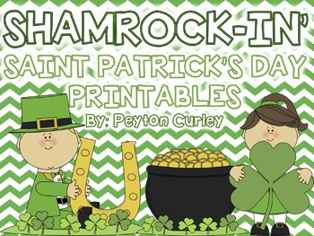 ShamROCKIN' St. Patrick's Day Printables: MATH and LITERACY