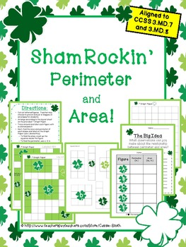 ShamRockin' Perimeter and Area!