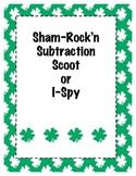 ShamRockin Three Digit Subtraction Scoot or I Spy
