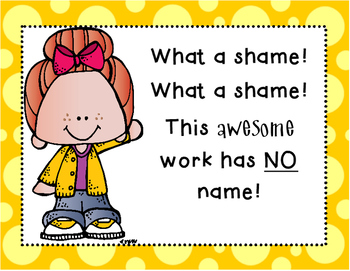 Shame Shame No Name