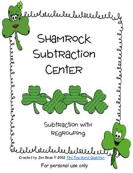 Shamrock 2-digit Subtraction