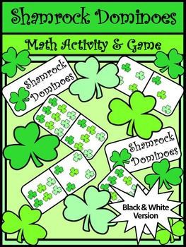 St. Patrick's Day Game Activities: Shamrock Dominoes St. Patrick's Day Math Game