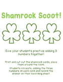 Shamrock 3 Addend Addition Scoot