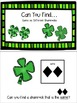 Shamrock Activities: Adapted Books & File Folder or Cookie Sheet Games