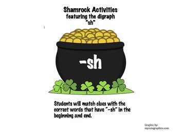 "Shamrock Activities: The Digraph ""-sh"""