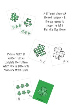 Shamrock Activity Pack