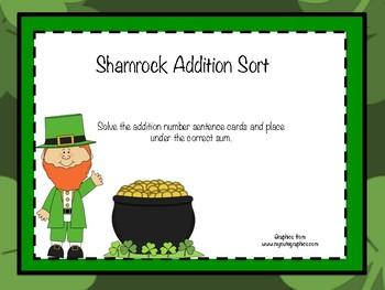 Shamrock Addition Sort
