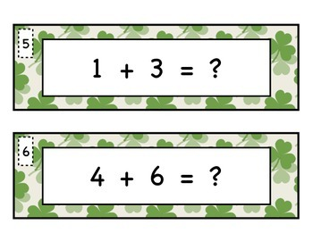 Shamrock Addition and Subtraction