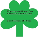 Shamrock Alphabet Cards