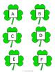 Shamrock Alphabet Letters
