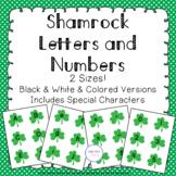 Shamrock Alphabet & Number Cards