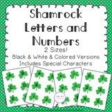 Shamrock Alphabet & Number Cards