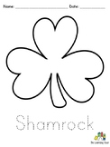 Shamrock Arts and Crafts Worksheets