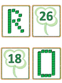 St Patrick's Day Themed--Place Value Sample