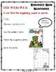 Shamrock Bear Beginning Sounds St. Patrick's Day File Folder Puzzle Game