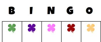 Shamrock Bingo
