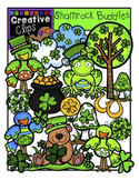 Shamrock Buddies {Creative Clips Digital Clipart}