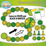 Shamrock Build A Board Game Clipart {Zip-A-Dee-Doo-Dah Designs}