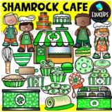 Shamrock Cafe Clip Art Set {Educlips Clipart}