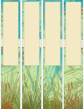 Nature Inspired Binder Covers