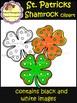 Shamrocks Clip Art - St. Patrick's Day (School Designhcf)