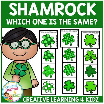 Shamrock Clip Cards St. Patrick's Day