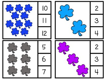 Shamrock Clip or Cover Counting Cards