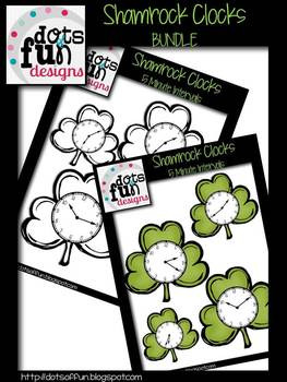 Shamrock Clock Bundle ~Dots of Fun Designs~